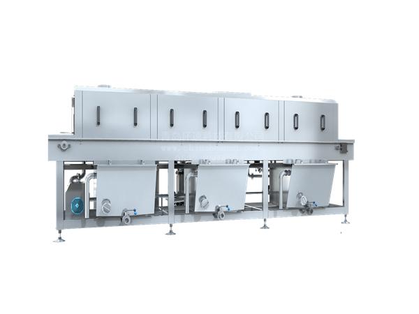 塑料桶清洗机,蒸汽加热节能减排