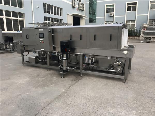 隧道式清洗机,水循环使用节约环保