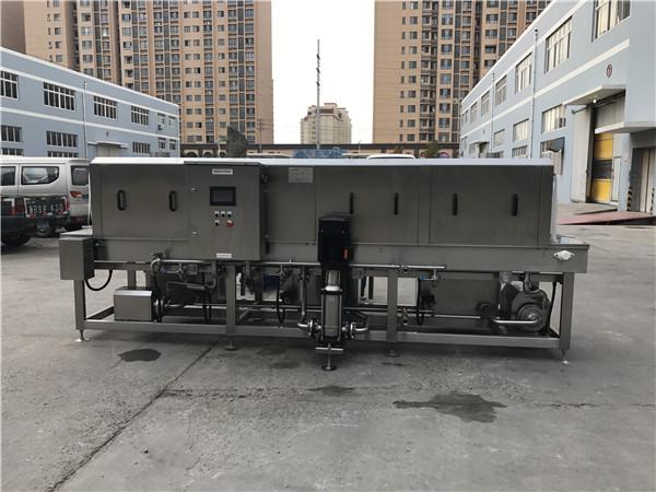 周转箱清洗机在配送行业的实际应用