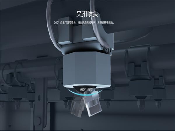 烤盘清洗机XK-500,高温高压灭菌