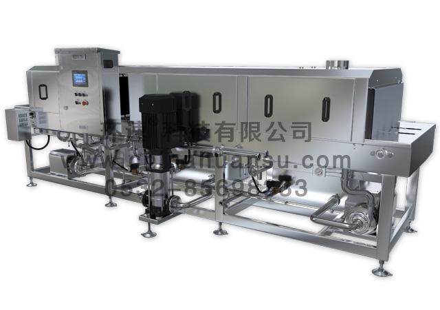 周转箱洗箱机XK-300,隧道式清洗机